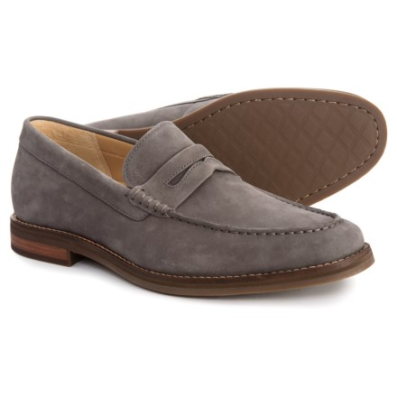 328c314d4d3 Sperry Gold Cup Exeter Penny Loafers - Nubuck (For Men) in Grey