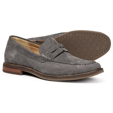 f84e7f10d213a7 Sperry Gold Cup Exeter Penny Loafers - Nubuck (For Men) in Grey