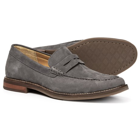 b8dd11df31e Sperry Gold Cup Exeter Penny Loafers - Nubuck (For Men) in Grey