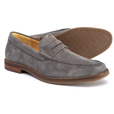 8638f21f90 Sperry Gold Cup Exeter Penny Loafers - Nubuck (For Men) in Grey