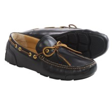Sperry Gold Cup Kennebunk One-Eye Loafers - Leather, Slip-Ons (For Men) in Black - Closeouts