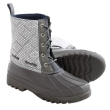 Sperry Gosling Duck Boots - Waterproof (For Women) in Graphite - Closeouts