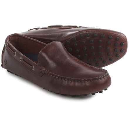 Sperry Hamilton Venetian Loafers - Leather (For Men) in Amarett - Closeouts