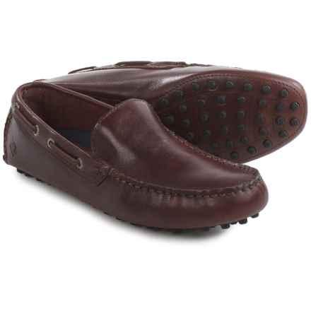 Sperry Hamilton Venetian Loafers - Leather (For Men) in Amarett - Closeouts