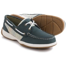 Sperry Intrepid Boat Shoes (For Women) in Navy/Blue Multi - Closeouts