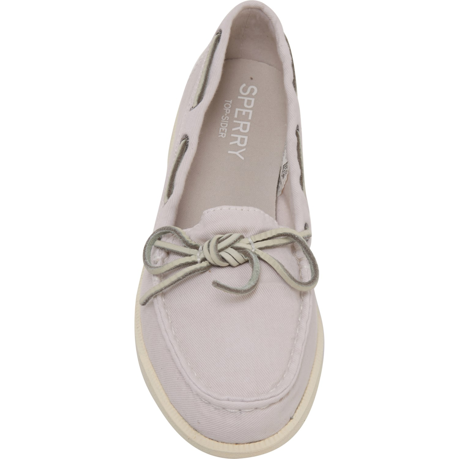 1971ab81098b Sperry Ivory Oasis Canal Canvas Boat Shoes (For Women)