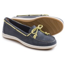 Sperry Jewelfish Boat Shoes - Leather (For Women) in Navy - Closeouts