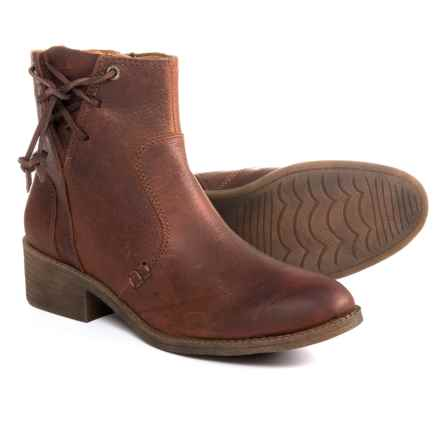 Sperry Juniper Glyn Leather Boots (For Women) in Rust - Closeouts