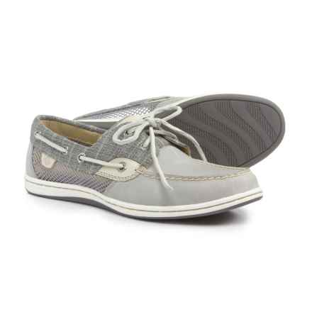 Sperry Koifish Boat Shoes (For Women) in Stripe Grey - Closeouts