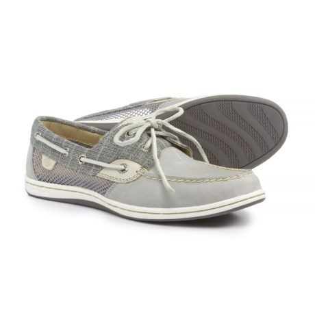 Sperry Koifish Boat Shoes (For Women) in Stripe Grey