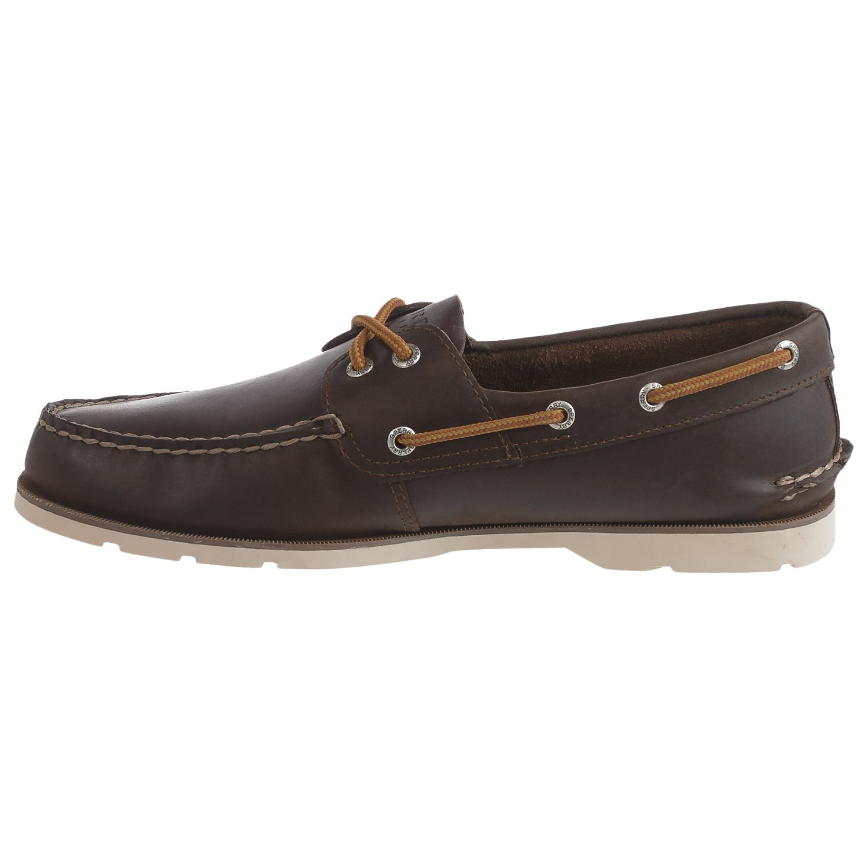 Sperry Leeward  Eye Boat Shoes Leather For Men