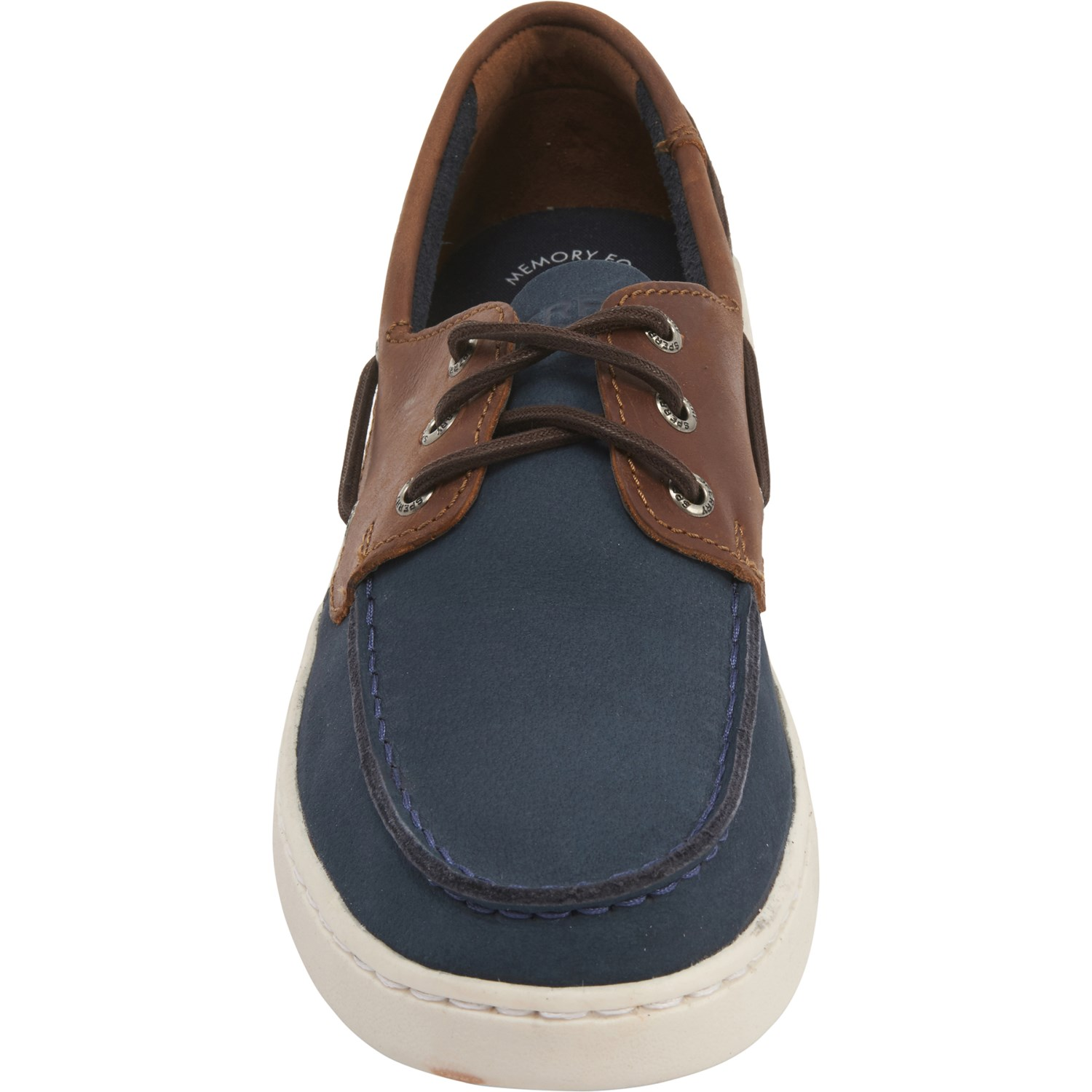 Sperry Navy Parkway 3 Eye Boat Shoes (For Men)