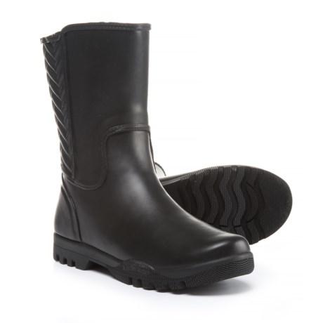 Sperry Nellie Chevron Rain Boots - Waterproof (For Women) in Black