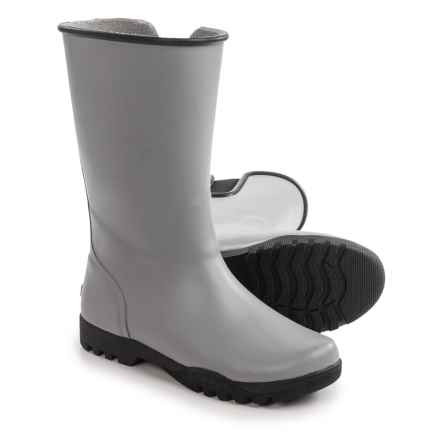 Sperry Nellie Rain Boots (For Women) in Grey/Black - Closeouts