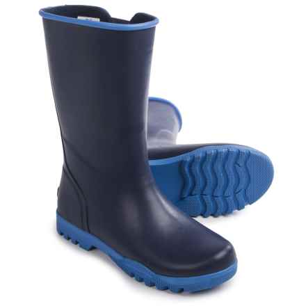 Sperry Nellie Rain Boots (For Women) in Navy/Bright Blue - Closeouts