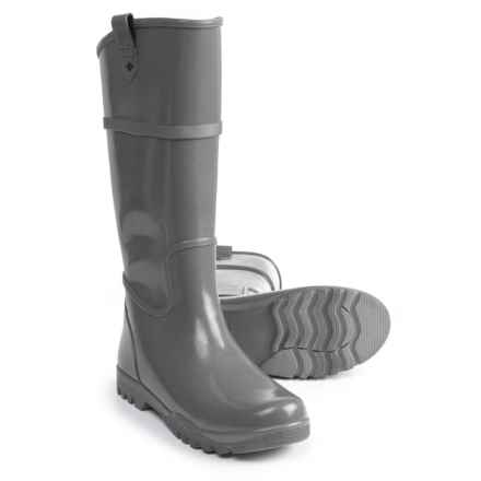 Sperry Nellie Rain Boots (For Women) in Smoked Pearl - Closeouts