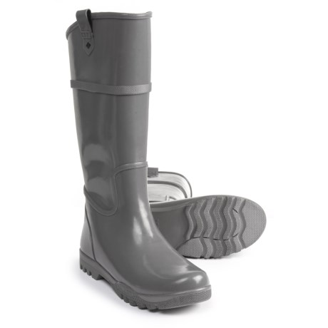 Sperry Nellie Rain Boots (For Women) in Smoked Pearl