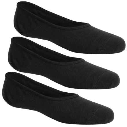 Sperry No-Show Liner Socks - 3-Pack, Below the Ankle (For Big Boys) in Black - Closeouts