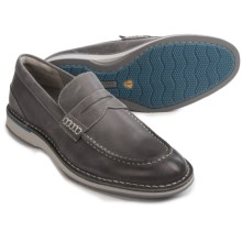 Sperry Norfolk Leather Penny Loafers (For Men) in Steel - Closeouts
