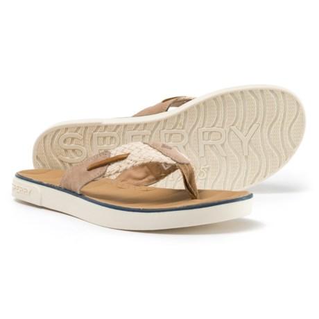 Sperry Oar Creek Sandals (For Women) in Ivory/Linen