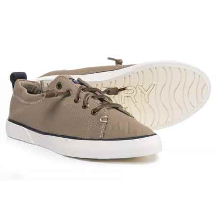 Sperry Pier View Sneakers (For Women) in Elastic Taupe - Closeouts