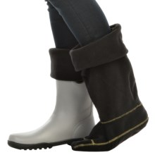 Sperry Rain Boot Sock Liners (For Women) in Black - Closeouts