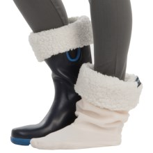 Sperry Rain Boot Sock Liners (For Women) in Ivory - Closeouts