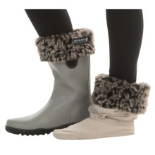 Sperry Rain Boot Sock Liners (For Women) in Silver - Closeouts