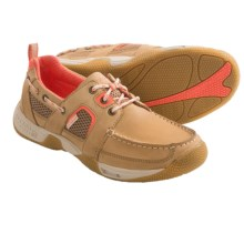 Sperry Sea Kite Boat Shoes - Sport Moc (For Women) in Linen - Closeouts