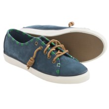 Sperry Seacoast Sneakers - Nubuck (For Women) in Navy - Closeouts