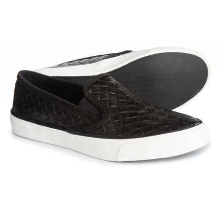 Sperry Seaside Nautical Perforated Sneakers (For Women) in Black