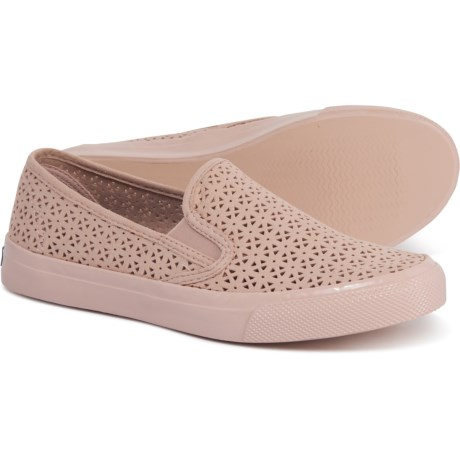 8e07b0d17af36 Sperry Seaside Perforated Sneakers (For Women) in Nautical Rose