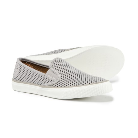 Sperry Seaside Perforated Sneakers - Leather (For Women)