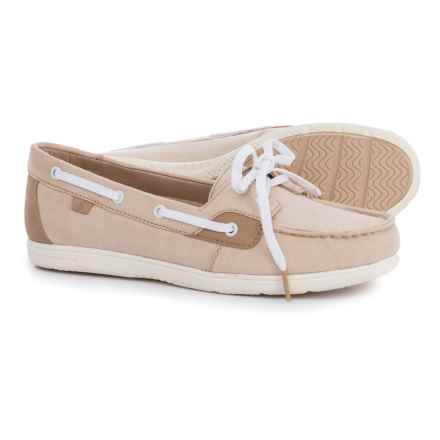 Sperry Shore-Sider Boat Shoes (For Women) in Chambray Nude - Closeouts