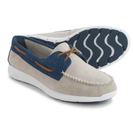 Sperry Sojourn Boat Shoes - Suede (For Men) in Oyster - Closeouts