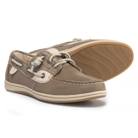 Sperry Songfish Boat Shoes (For Women) in Taupe