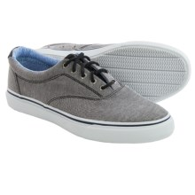 Sperry Striper CVO Chambray Sneakers (For Men) in Chambray/Black - Closeouts