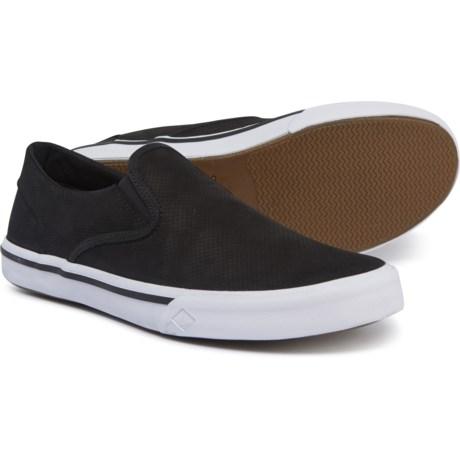 a91fd07a74a7 Sperry Striper II Sneakers - Leather (For Men) in Black