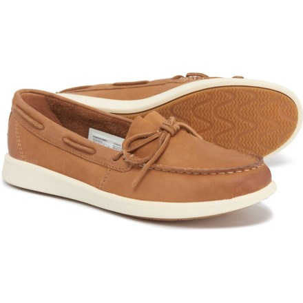 18d8710cf5ca Sperry Tan Oasis Canal Boat Shoes - Leather (For Women) in Tan