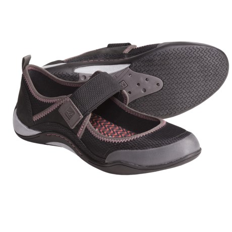 Sperry Top-Sider Beechcomber Shoes - Mary Janes (For Women) in Black/Graphite