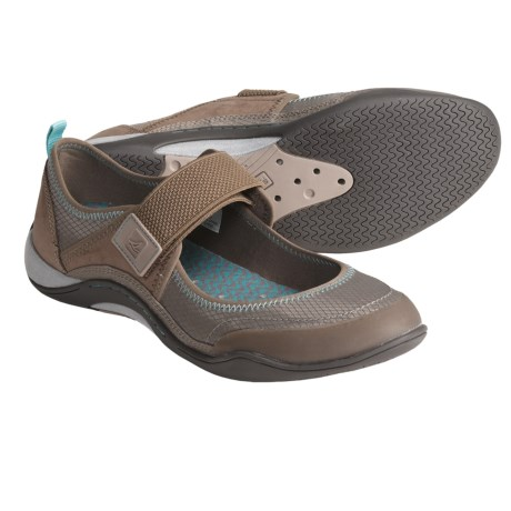 Sperry Top-Sider Beechcomber Shoes - Mary Janes (For Women) in Greige