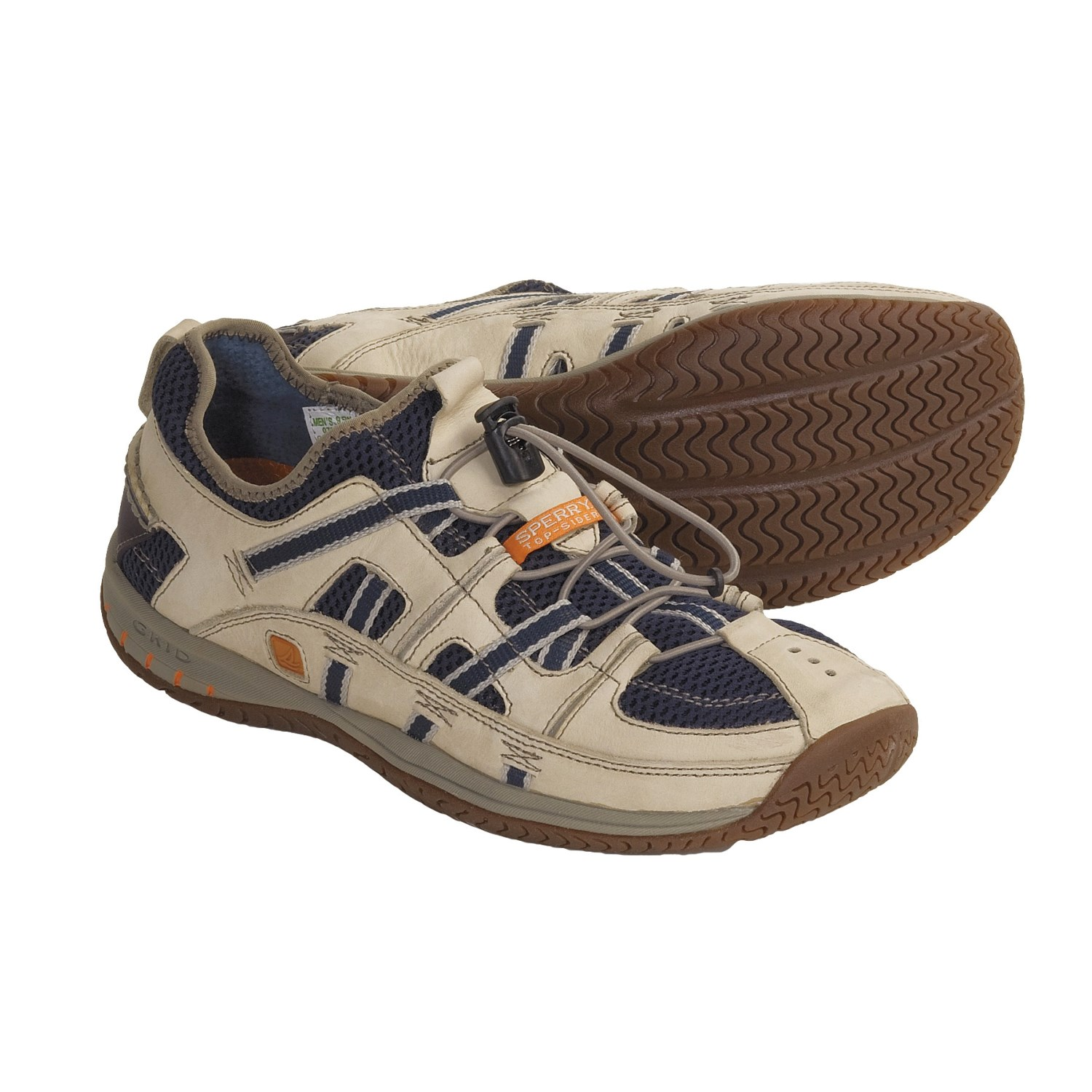 Sperry Top-Sider Cabo Sport Boat Shoes (For Men) in Oyster/Navy