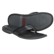 Sperry Top-Sider Capitola Thong Sandals (For Men) in Black - Closeouts
