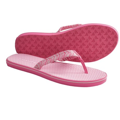 Sperry Top-Sider Cisco Thong Sandals (For Women) in Light Rose/Zebra