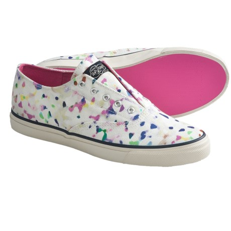 Sperry Top-Sider CVO Laceless Sneakers - Slip-Ons (For Women) in Confetti Print