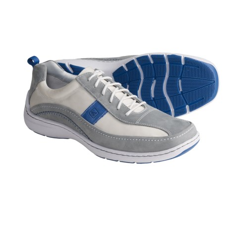 Sperry Top-Sider Frisco Sport Shoes - Leather (For Men) in Light Grey/Blue