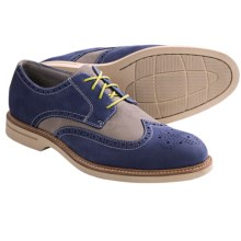 Sperry Top-Sider Gold Cup ASV Wingtip Oxford Shoes - Leather (For Men) in Blue/Grey - Closeouts