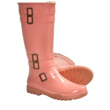 Sperry Top-Sider Kingbird Rain Boots - Waterproof (For Women) in Coral - Closeouts