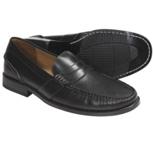 Sperry Top-Sider Leather Penny Loafer Shoes - Gold Cup Collection (For Men) in Black Smooth - Closeouts