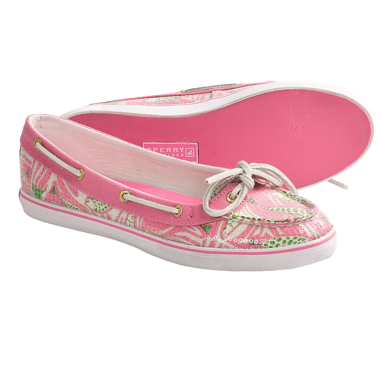Sperry Top-Sider Lola Print Shoes (For Women) in Pink Fish Print